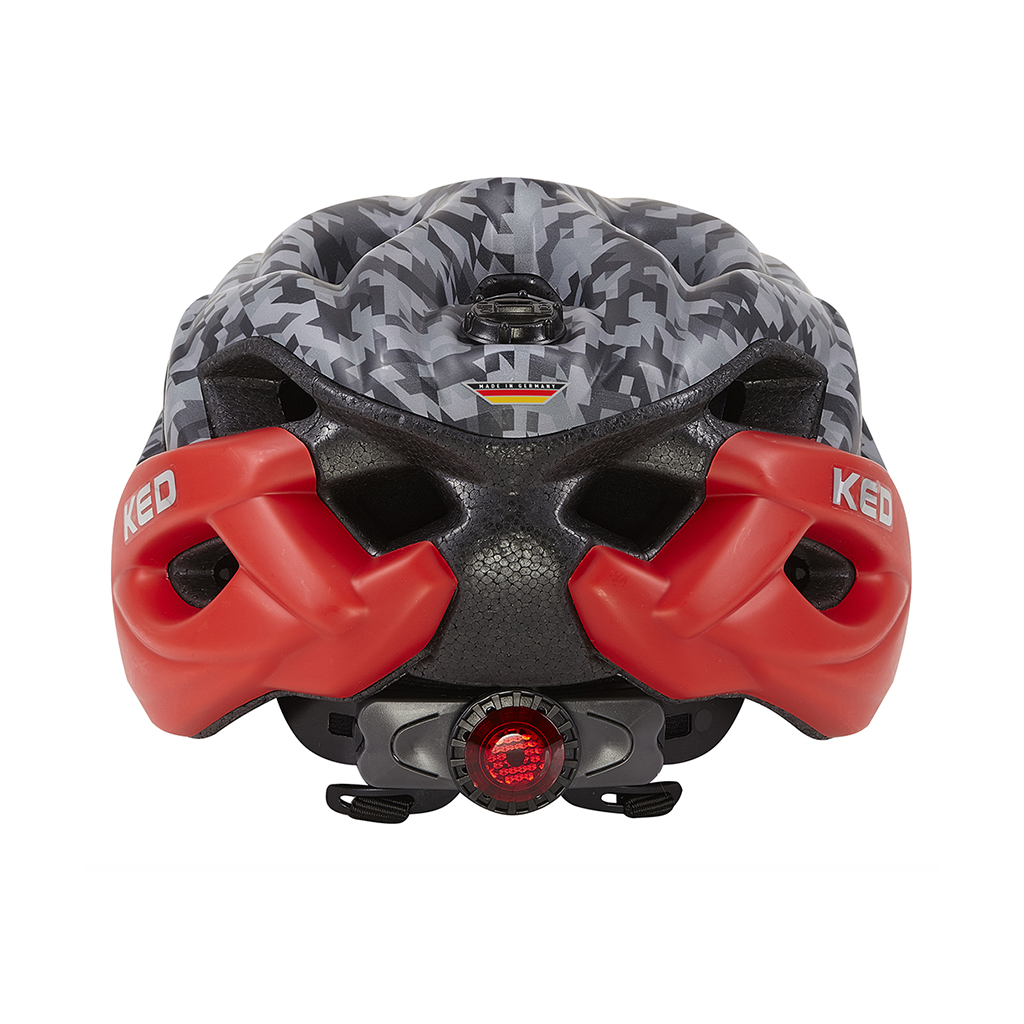 Шлем KED Status Junior Camouflage Anthracite Red S 1