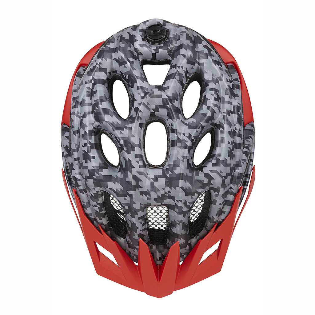Шлем KED Status Junior Camouflage Anthracite Red S 2