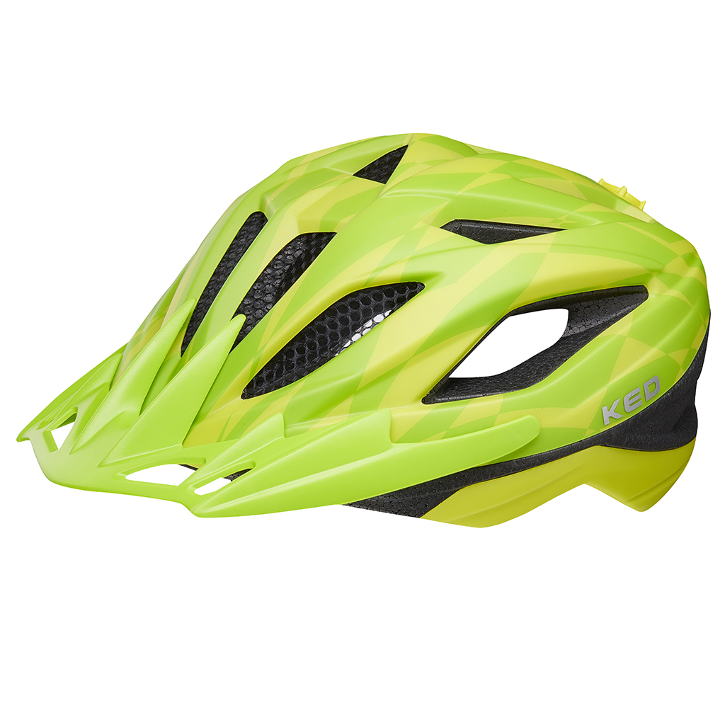 Шлем KED Street Junior Pro Yellow Green S